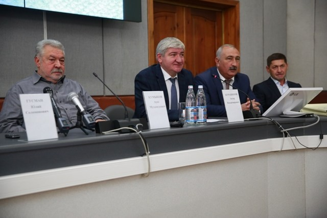 Юлий Гусман встретился со студентами  Кабардино-Балкарского госуниверситета