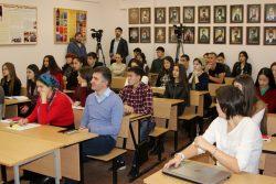 В КБГУ прошла лекция Георгия Вилинбахова  «Поговорим о геральдике»
