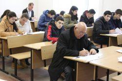 В КБГУ Всероссийский географический диктант написали более 600 человек