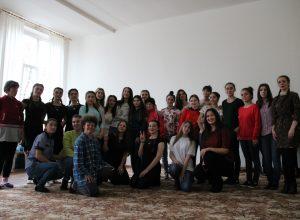 «С добром по жизни» - благотворительная акция Педагогического института ко Дню инвалидов в Психоневрологическом интернате