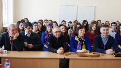 Джабраил Хаупа встретился со студентами-филологами КБГУ
