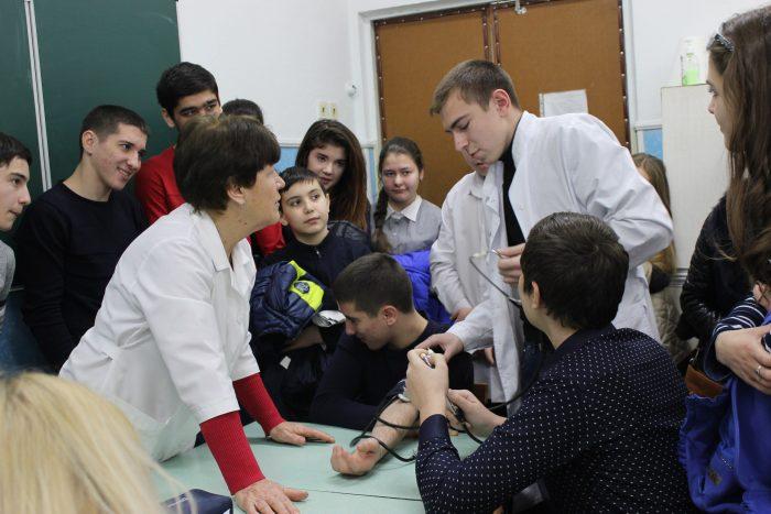 День открытых дверей в медицинском колледже