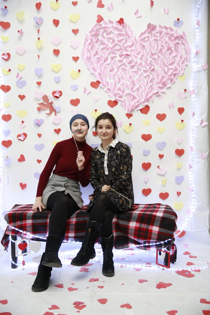 В КБГУ отпраздновали День всех влюбленных
