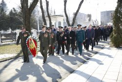 В КБГУ начали праздновать День защитника Отечества