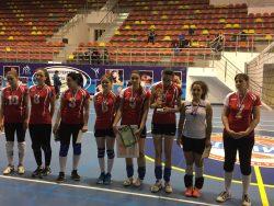 Женская команда по волейболу КБГУ одержала победу в республиканском турнире
