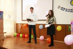 Студенты КИТиЭ КБГУ поздравили сотрудниц и студенток с наступающим Международным женским днём