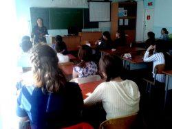 Занятия в базовом классе Педагогического института «Юный психолог» продолжаются