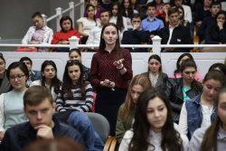В Центре культуры им. Х. С. Темирканова прошла открытая лекция руководителя Федеральной антимонопольной службы по КБР Казбека Пшиншева