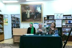 Мероприятие в государственной национальной библиотеке