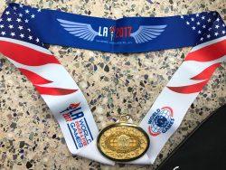 Руководитель центра дзюдо при КБГУ Залим Гаданов взял «золото» на XVII Всемирных играх полицейских и пожарных в США