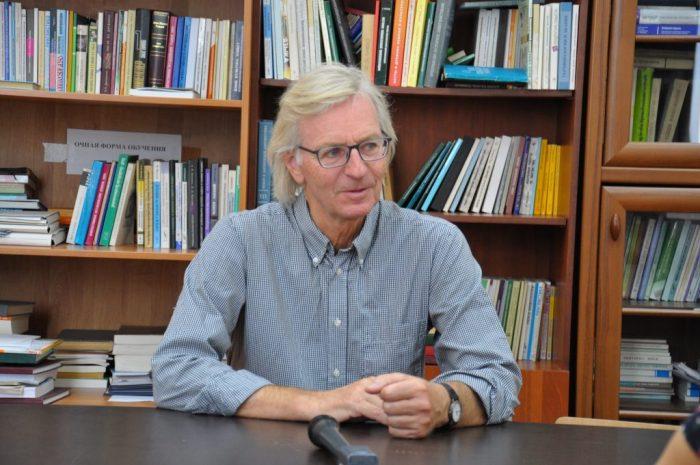 Профессор из Фрайбурга читал лекции студентам КБГУ