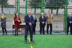 В КБГУ открыли поле для мини-футбола