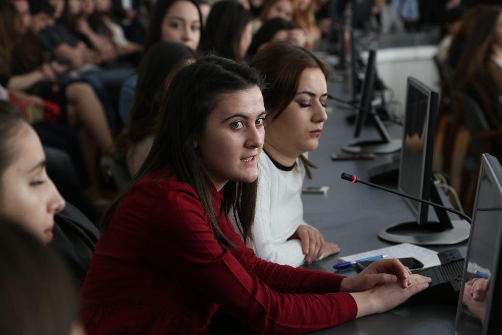 Председатель Геральдического совета при Президенте РФ пообщался со студентами КБГУ
