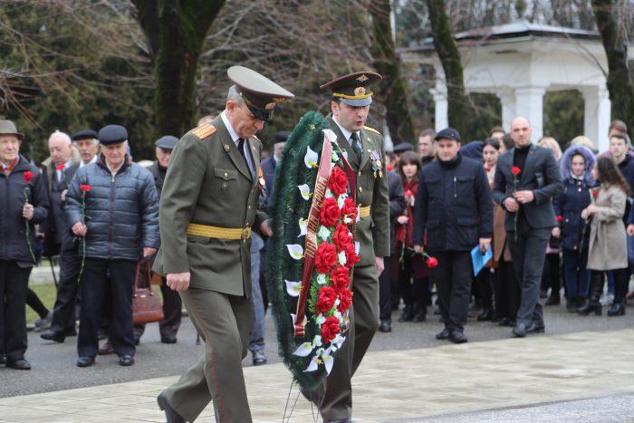 В канун Дня защитника Отечества в КБГУ чествовали ветеранов