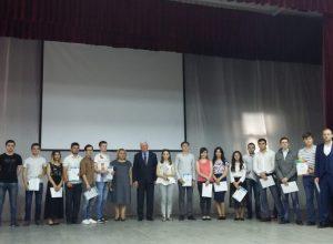 Награждение грамотами и благодарственными письмами лучших преподавателей и студентов ИИЭиКТ
