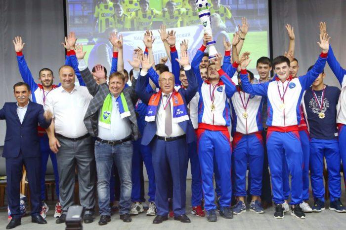 Команда КБГУ подняла футбол республики на новый уровень