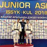 Дзюдоисты из КБГУ достойно выступили на Кубке Азии