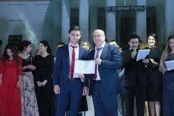 Вручение красных дипломов в КБГУ 2018