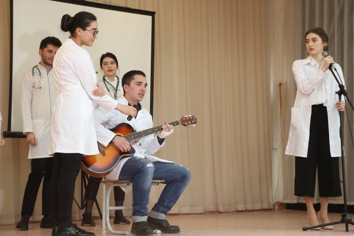 Открытие медицинского класса КБГУ