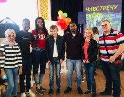 Инностранные студенты КБГУ с визитом в интернате