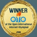 Победитель Открытых международных студенческих Интернет-олимпиад (2018 г.)