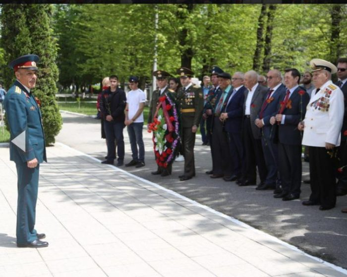 Торжества в честь 74-й годовщины победы в ВОВ