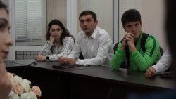 Встреча с футболистами КБГУ
