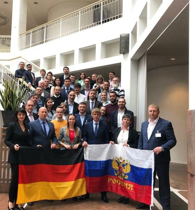 Молодежные клубы России и Германии готовы к дружбе и сотрудничеству