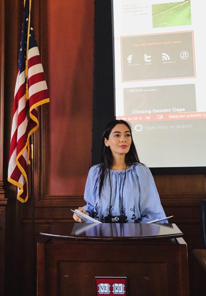 Студентка Института Права, Экономики и Финансов поучаствовала в международной конференции в США