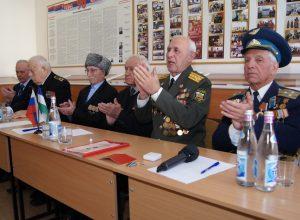 Встреча ветеранов со студентами педколледжа КБГУ