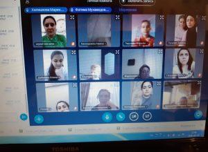 В колледже прошли квалификационные экзамены в формате видеоконференции