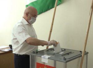 голосование ректора КБГУ