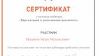 Шапсигов М.М. Вебинар Москва