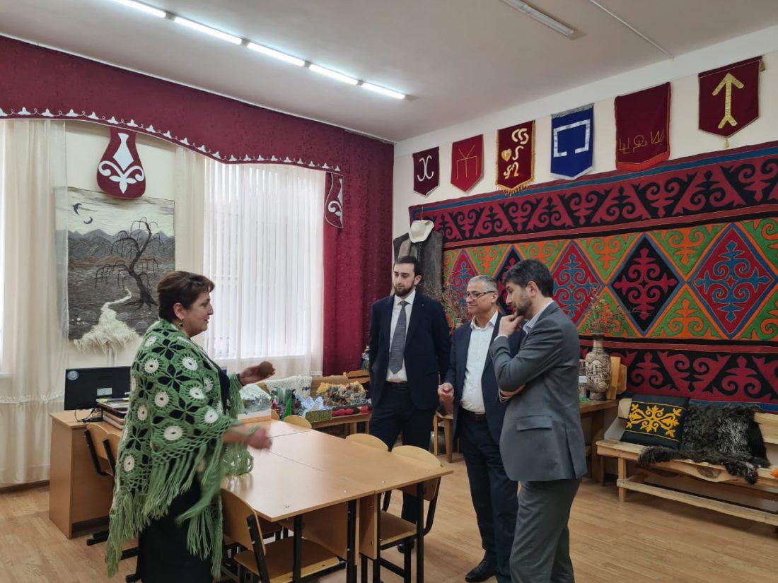 Педагогический колледж ИПП и ФСО КБГУ посетили гости из Чеченской республики