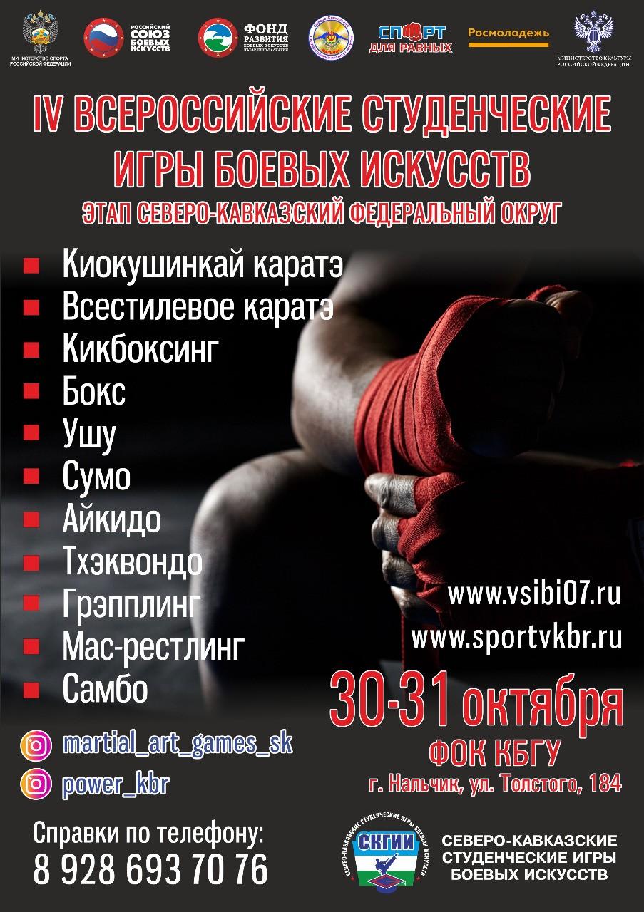 Северо-Кавказские студенческие игры боевых искусств 2021
