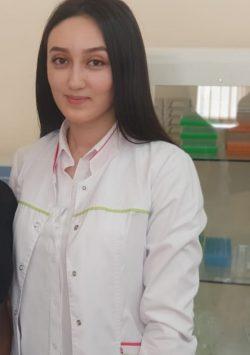 Бахова Динара Казбековна