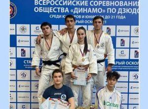 Всероссийские соревнования Общества «Динамо» по дзюдо среди юниоров до 21 года